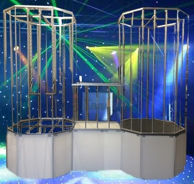 Go Go Stage With Cage Rentals Sales Los Angeles